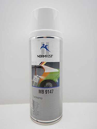 Normfest Pintura en aerosol blanco para Mercedes Benz 9147,