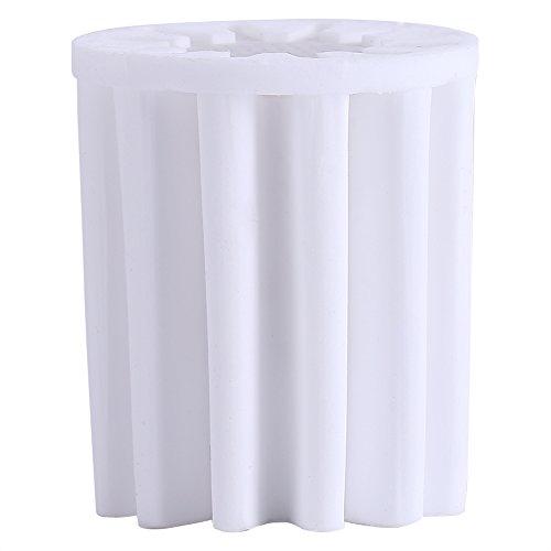 Núcleo do filtro branco da cabeça de chuveiro em linha, filtro de reposição, para banheiro de chuveiro