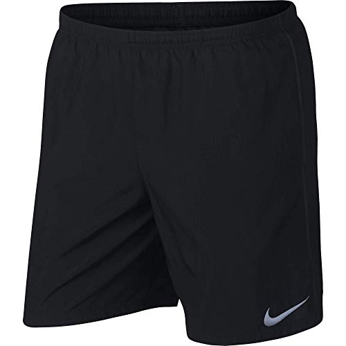 Nike Men's 7' Running Shorts, Sweat Wicking Running Shorts Men Need, Black/Black, M
