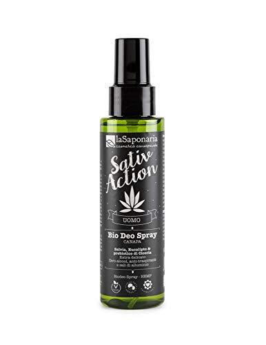 Desodorante Bio Spray Hemp Hombre Sativ Action None