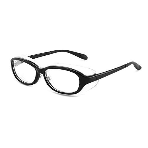 QCLU Gafas de Seguridad Anti-Polen para niños, Gafas de Polen Gafas Gafas de Fiebre de heno, Gafas Protectoras para niños con características Anti-Azules de protección de Ojos Ligeras