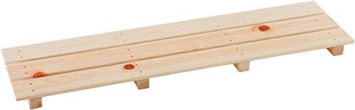 池川木材 【国産】 桧 多目的すのこ 850-3枚打 (85×22.6×3.7cm)
