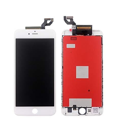 Janado LCD Display voor iPhone 6S Plus voorgemonteerd Touch White + gereedschap plakstrip