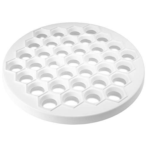 4BIG.fun Teigform Teigtaschen aus Kunststoff Pelmeni 37 Zellen Ravioli Ausstechform Pelmenniza Pelmeniza