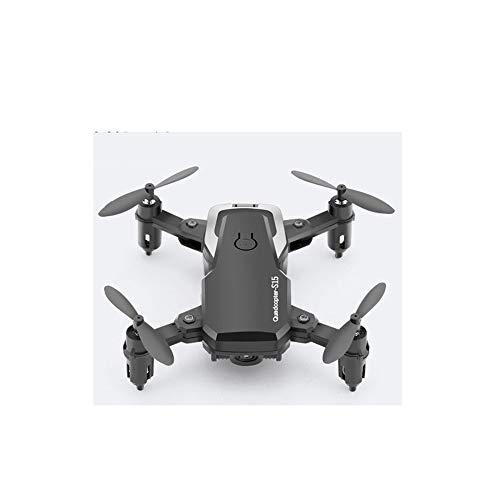Lily Vier-Achs-Mini-Drohne Luftaufnahmen Fahrzeug HD Smart Hubschrauber Spielzeug Der Kinder 360-Grad-Rolle Schießen Lade,Schwarz,30W