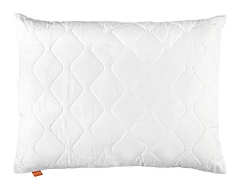 sleepling Komfort 190024 Almohada de Microfibra 70 x 90 cm, Blanco