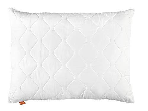 sleepling 190024 Komfort 100 Kopfkissen Mikrofaser 70 x 90 cm, weiß