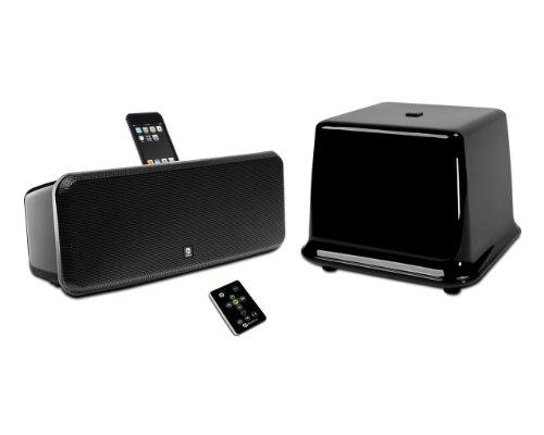 Boston Acoustics IDS 3 plus - Altavoces y radio con puerto dock de 100W para iPhone, iPod, negro (importado)