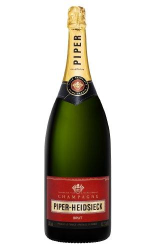 Piper-Heidsieck Brut Champagner 1,5 Liter Magnum Großflasche, 1er Pack (1 x 1.5 l)