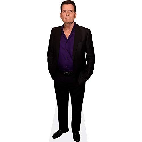 Celebrity Cutouts Charlie Sheen (Suit) Pappaufsteller lebensgross