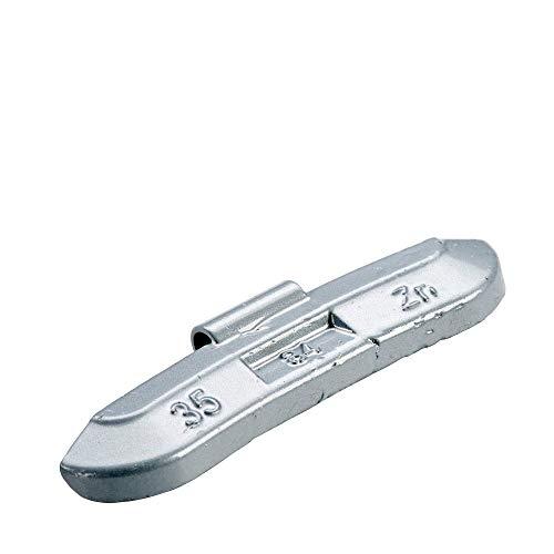 PERFECT EQUIPMENT Auswuchtgewichte Stahlfelgen Silber beschichtet 35g | Wuchtgewichte Schlaggewichte Stahlfelgen | Schlaggewichte Reifen