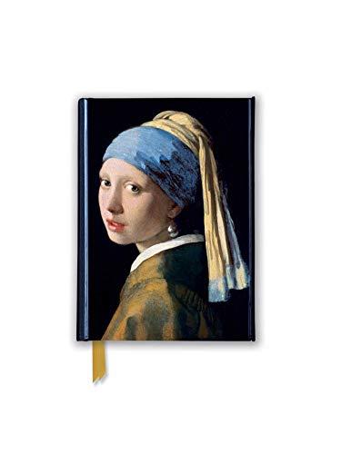 Premium Notizbuch DIN A6: Johannes Vermeer, Das Mädchen mit dem Perlenohrring: Unser hochwertiges, liniertes Blankbook mit festem, künstlerisch ... Notizbuch DIN A 6 mit Magnetverschluss)