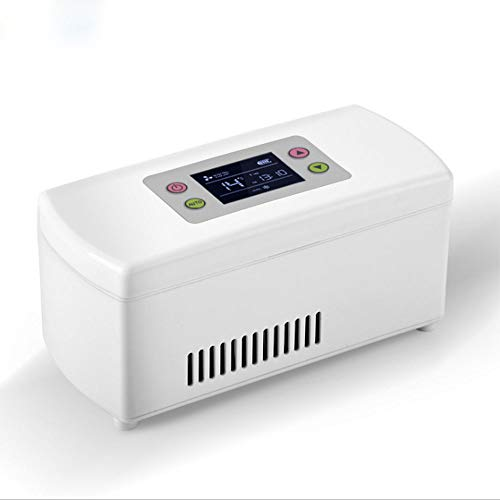 WANGT Insulin Kühler,tragbare Intelligente Kühlung Wiederaufladbare Temperaturregelung Heiß&kühl Duale Kontrol Medizinischer Kühlschrank,Reise Lagerung Von Arzneimitteln Gekühlte Box,Type b
