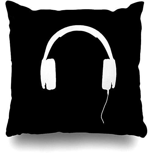 985 Funda De Almohada Auriculares De Diseño De Casa Romántica Funda Decorativa para Cojín Doble Cara Throw Pillow Case para Sala Estudio Exterior 45X45Cm