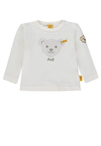 Steiff Steiff Unisex Baby 1/1 Arm T-Shirt, Weiß (Cloud Dancer|White 1610), 68