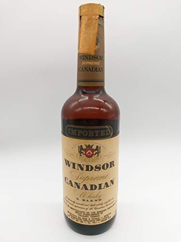 Windsor Canadian Supreme Whisky 1972