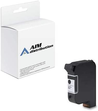 AIM Compatible Replacement for ECOC6195A Spot Black Inkjet - Compatible to HP C6195A - Generic