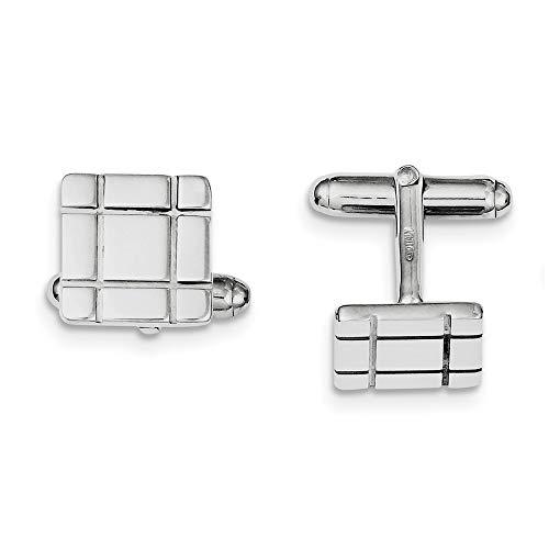 Tige en argent Sterling Design manchette-JewelryWeb