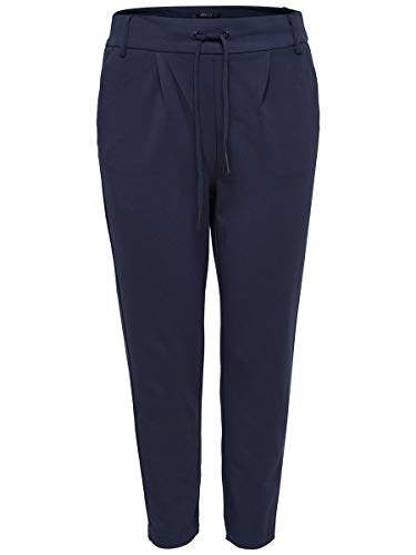 ONLY Onlpoptrash Easy Colour Pant Pnt Noos, Pantaloni Donna, Blu (Night Sky), 34 /L34 (Taglia Produttore: X-Small)