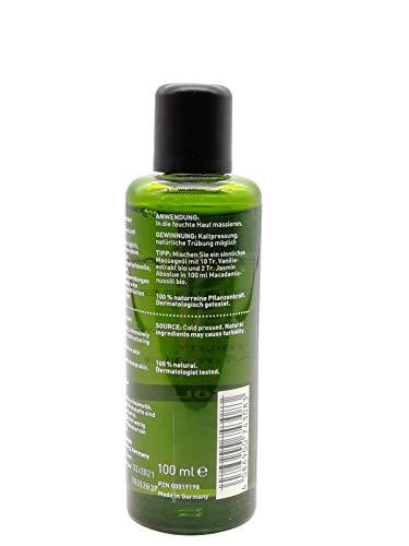 PRIMAVERA Pflegeöl Macadamianussöl bio 100 ml - Naturkosmetik, Pflanzenöl, Hautöl - glättend,...