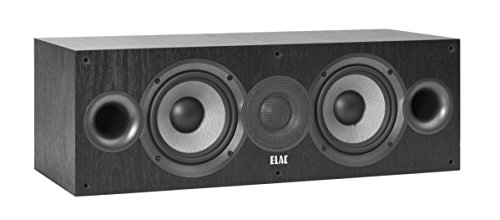 ELAC Debut C5.2 - Altavoz Central, Color Negro