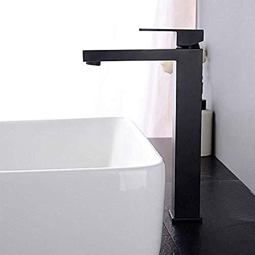 Waterkraan High Body hete en koude werkblad mengkraan badkamer waterbesparende douchekop zuiver koper retro zwarte waterkraan wastafel kraan