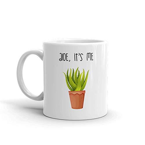 Aloe C'est Me humoristique Humour en céramique blancs de 311,8 gram en verre Café Thé Mug Tasse