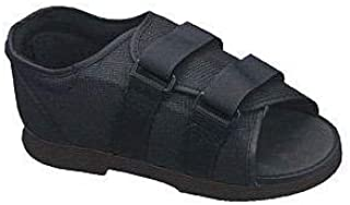 Bell-Horn Men's Post-Op Shoe Medium Size 9-11, Black (1 Each)