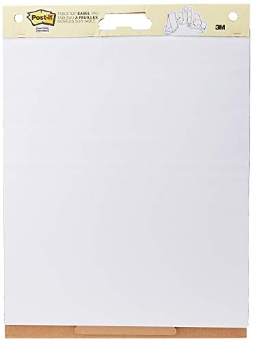 Post-it Super Sticky Tabletop Easel Pad, 20