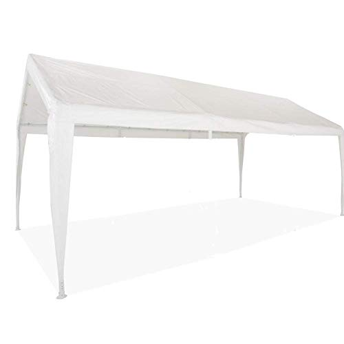 Impact Canopy 070111020 Carport Replacement Top and Leg Skirts, White