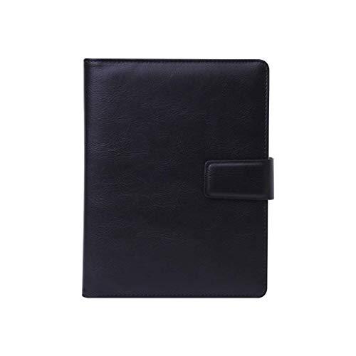 Cuaderno Simple Espesado Exquisito Estudio Bloc de notas Oficina Diario Grabación DAGUAI (Color : Black, Size : 18.2 * 23.3cm)