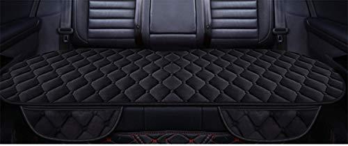HONCENMAX Lange Rücksitz Sitzauflage Auto Sitzkissenbezug Auto Innensitzbezüge Auflage Matte rutschfest/Weich - [Ohne Rückenlehne] - 1 Packung Rücksitzabdeckung