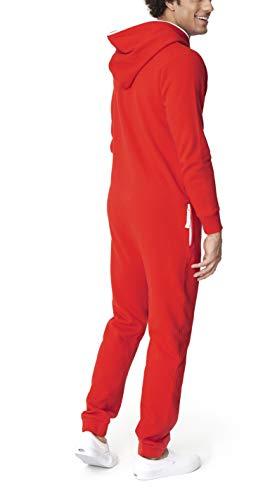 OnePiece Damen Jumpsuit Unisex Original 2.0, Rot (Red) - 7