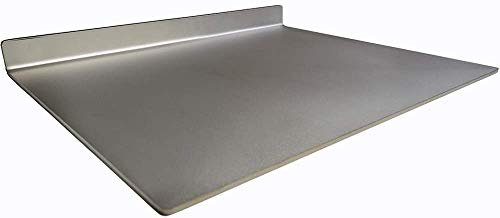 American Grill Goods Steel Flat Top Grill Griddle Double Pre-Seasoned 1/4