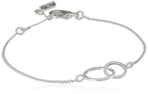 Pilgrim Damen-Armband Versilbert mattiert 18.5 cm - 141626002