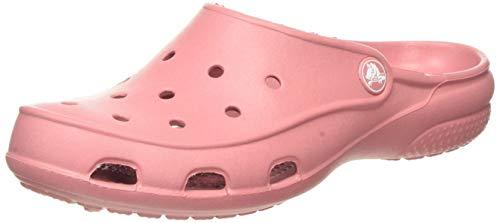 Crocs Freesail Clog Women, Zuecos para Mujer, Rosa (Blossom 682), 36/37 EU
