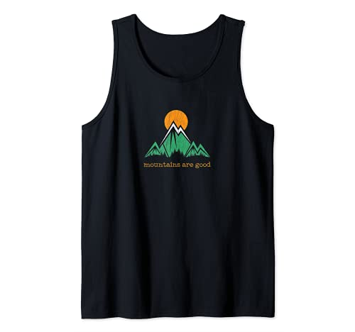 Montaña Vintage Trail Running Camiseta sin Mangas