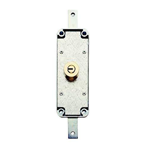 AGA P1820P000/CAJA 1 un. Cerradura Puerta Metalica 182, 0 W, 0 V, Acero