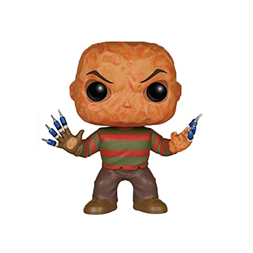 Horror Movies A Nightmare On Elm Street Freddy Krueger 10Cm Pop Action Figure Collection Model Toys for Children Birthday Gifts