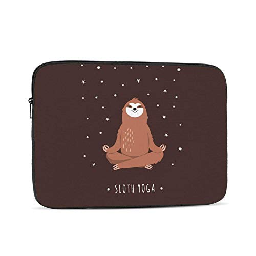 Funda para portátil Yoga Sloth-gigapixel, Funda Protectora para maletín, Bolso de Transporte para Netbook Ultrabook para Mujeres y Hombres, 13 Pulgadas
