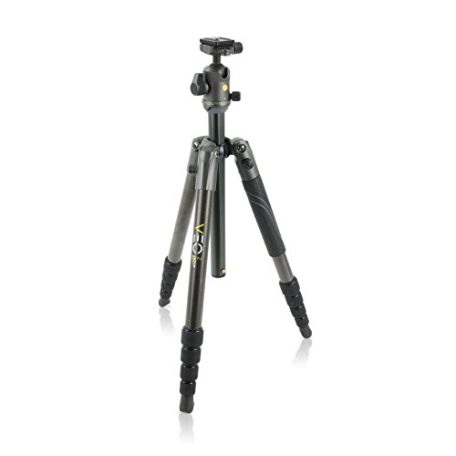 Vanguard VEO 2 265CB Carbon Fiber Travel Tripod with VEO 2 BH-50 Ball Head for...