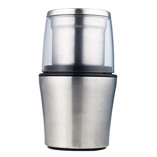 L@LILI 200 Watt Elektrische Kaffeemühle Edelstahl Körper Große Kapazität Für Salz Pfeffermühle Leistungsstarke Bohnenschleifmaschine