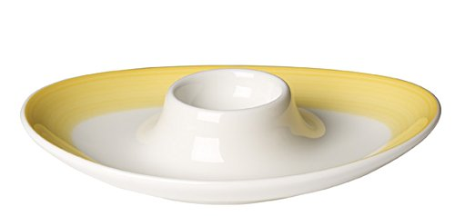 Villeroy & Boch Colourful Life Lemon Pie Eierbecher, 5x5x7 cm, Premium Porzellan, Gelb