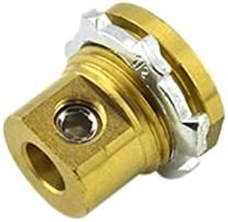 Bridgeport MC-050 Brass Grounding and Bonding Connector 1/2 Inch 8-2 AWG Bare Solid/Stranded Aluminum 6-2 AWG Stranded Mighty-Bond