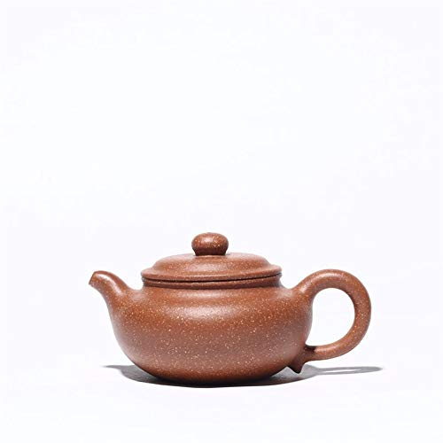 HuiQing Zhang Sources of Origin Boutique handgefertigte Teekanne Kung Fu Tea Antik Trompete Dracaena Sand Teekanne Drachenblutsand