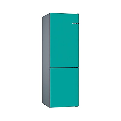 Bosch Serie 4 KVN39IA3B Independiente 366L A++ Turquesa nevera y congelador - Frigorífico (366 L, SN-T, 14 kg/24h, A++, Compartimiento de zona fresca, Turquesa)
