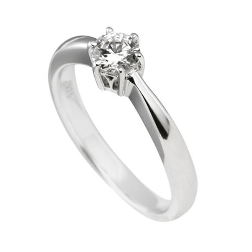 Diamonfire Damen-Ring 925 Sterling Silber Zirkonia Carats weiß Gr.57 (18.1) 61-1485-1-082-57