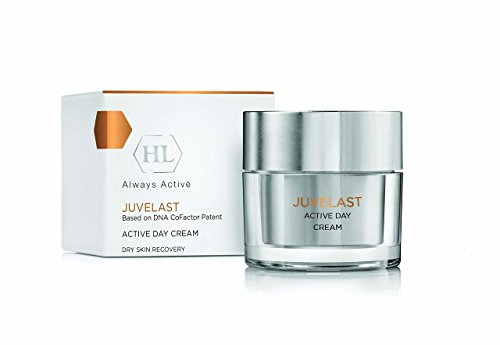 HL Juvelast - Nourishing Anti Aging Active Day Cream w Hyaluronic Acid, Vitamin E & Patent DNA Repair Enzyme For Dry Skin 1.7oz