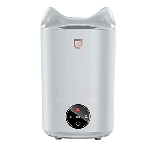 FGJKKRMI Humidificador De Niebla Fría Dormitorio Hogar 5L Humidificador De Aire Difusor De Aceite Esencial Silencioso con Protección De Seguridad De Iones De Plata