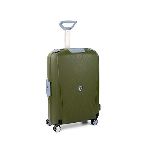 RONCATO Light trolley medio rigido 4 ruote tsa Verde militare